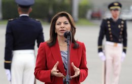 La presidenta de Costa Rica, Laura Chinchilla