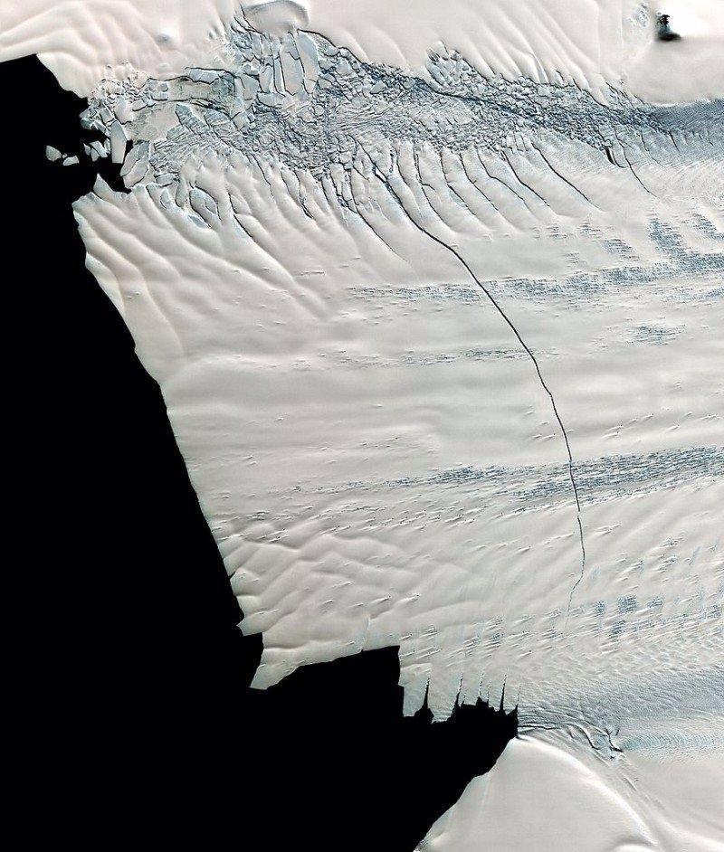 Seis enormes glaciares en la Antártida aceleran su deshielo
