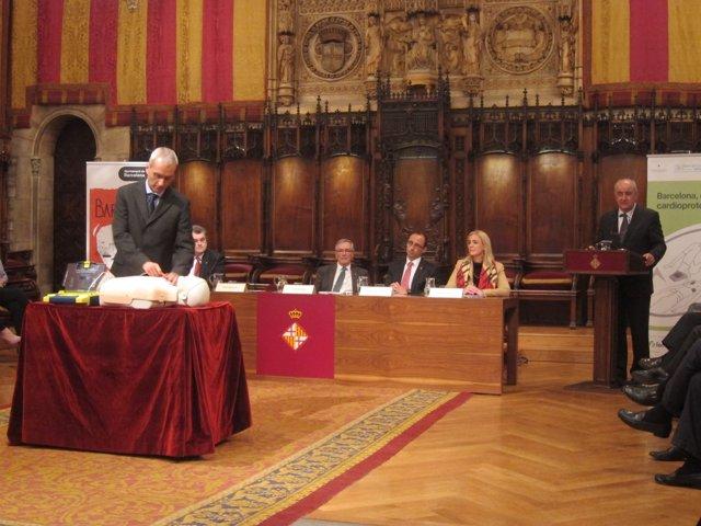 Presentación del programa en el Ayuntamiento