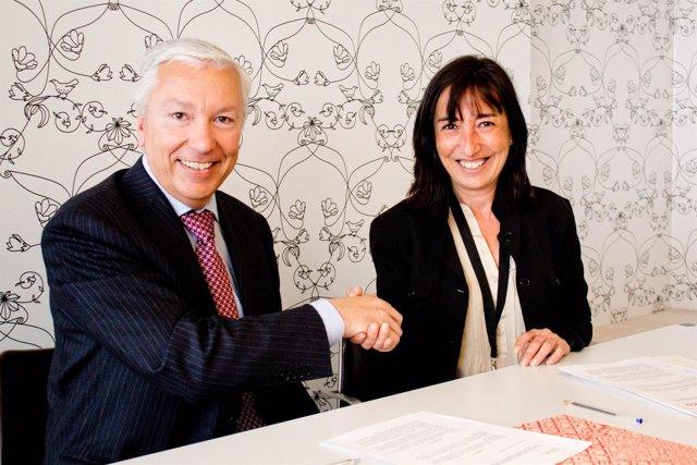 Antoni Abad (Banc) e Isabel Roig (BCD)