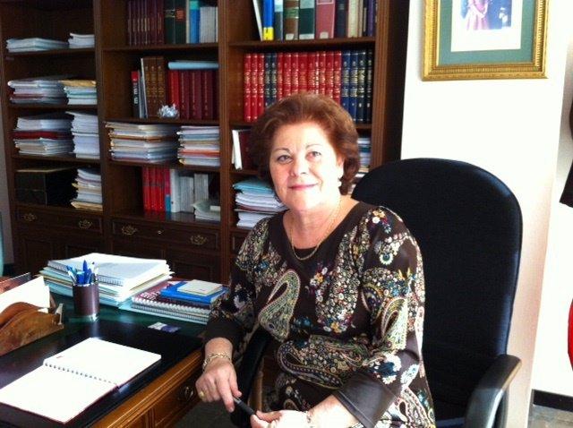 Teresa Rosique en su despacho