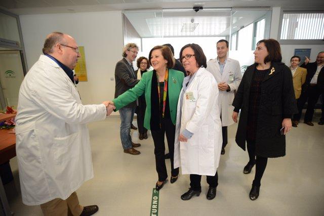 Sánchez Rubio inaugura centro de salud Albayda en Granada