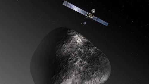 Aterrizador Philae y nave Rosetta