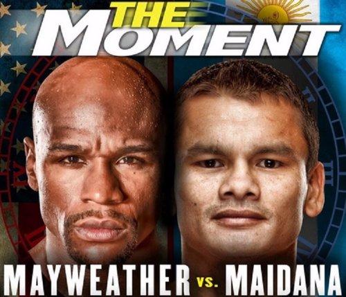 Floyd Mayweather y  Marcos Maidana