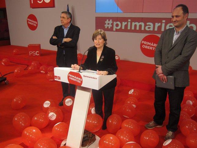 La presidenta de la Autoridad Electoral de primarias del PSC, Carme Sanmiguel