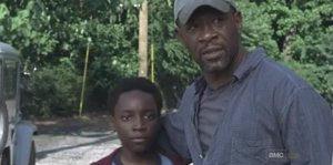 The Walking Dead, Morgan y su hijo