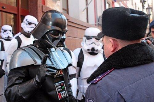 Darth Vader, candidato presidencial ucraniano