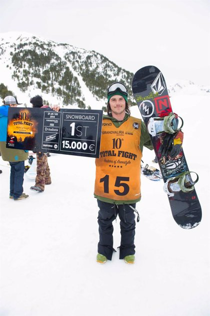 Torgeir Bergrem, vencedor del Grandvalira Total Fight Masters of Freestyle