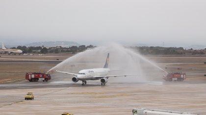 Una nueva ruta une desde este domingo el aeropuerto de Manises con Fráncfort