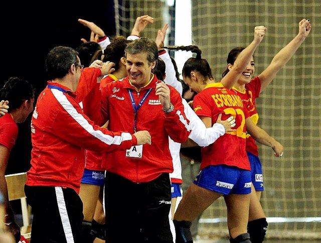 Jorge Dueñas selección española balonmano