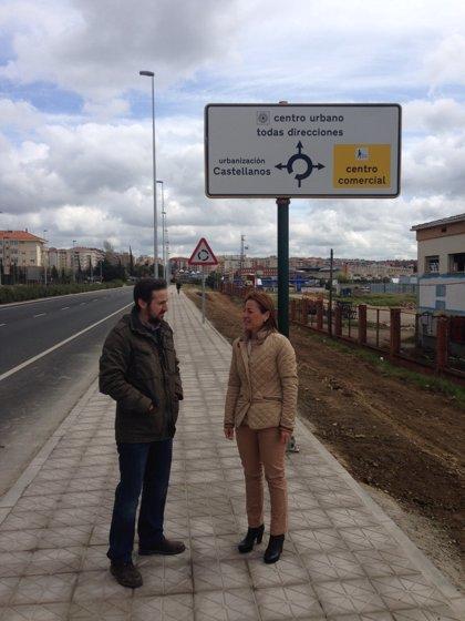 Entra en servicio el acceso peatonal de El Junquillo en Cáceres