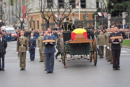 Diego asistirá este lunes al funeral de Estado en la Catedral de La Almudena