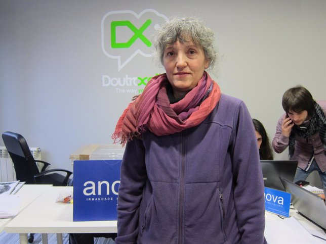 Lidia Senra tras ser elegida candidata de Anova a las europeas