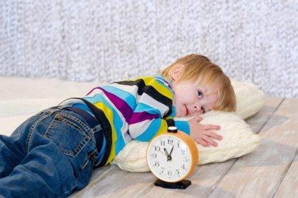 Los niños son más sensibles al cambio de hora