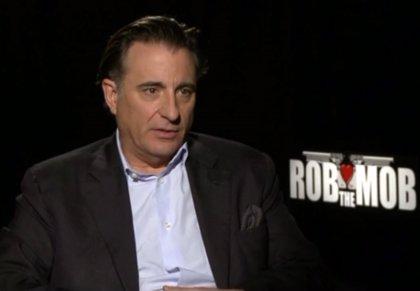 Andy García se codea de nuevo con la mafia en 'Rob the Mob'