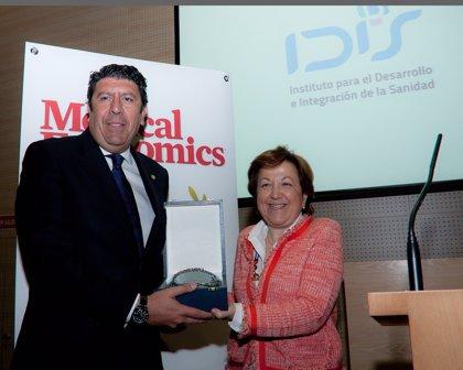 El IDIS recibe el galardón a la 'Mejor Actividad Profesional' en los 'Premios Medical Economics 2014'