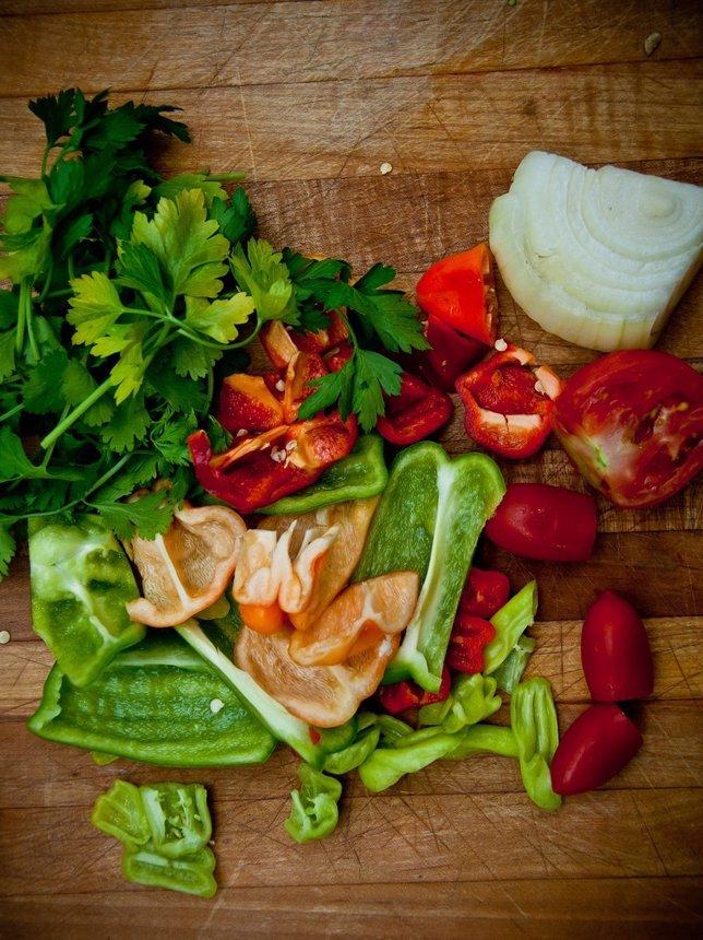 Verduras, comida saludable