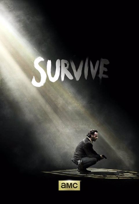 The Walking Dead, póster temporada 5