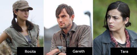 The Walking Dead, recurrentes 5 temporada