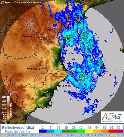 El interior de Castellón y Valencia están en alerta por vientos que pueden llegar a los 70 Km/h