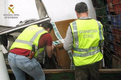 Detenido por robar 19 contenedores para ropa y calzado en Sevilla