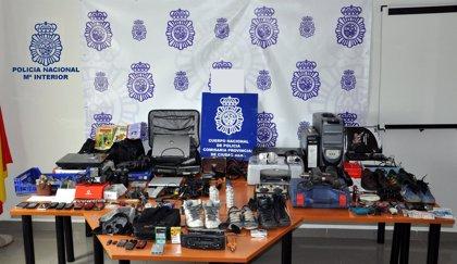 Cinco detenidos en Ciudad Real por cometer butrones
