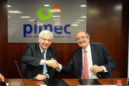 Generalitat y Pimec fomentarán el uso del catalán en las empresas