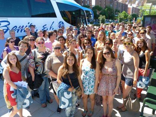 Estudiantes Erasmus en Santander