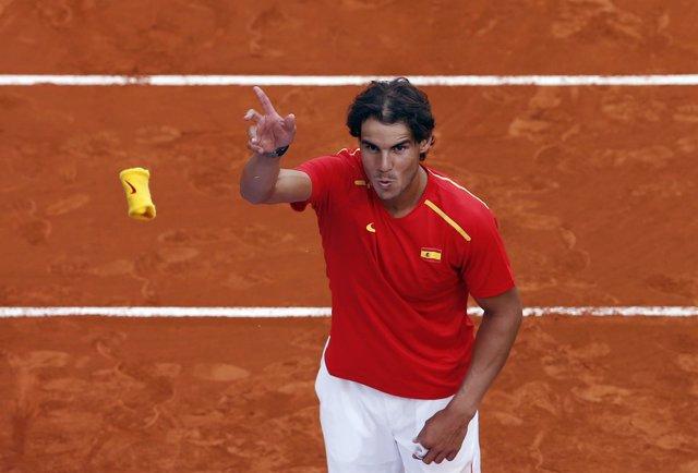 Rafael Nadal en la Copa Davis