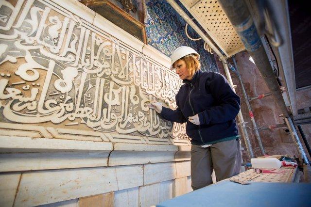 Restauración Puerta de la Justicia, Alhambra