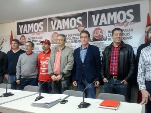 Ramón Gorriz, Jesús Villar CCOO