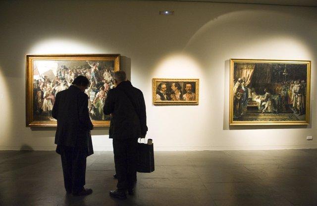Exposición sobre el patrimonio de la Diputación en el MuVIM