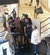 Foto: Mujica explica a Kusturica su fuga de la cárcel