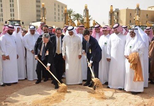 FCC inicia las obras del metro de Riad