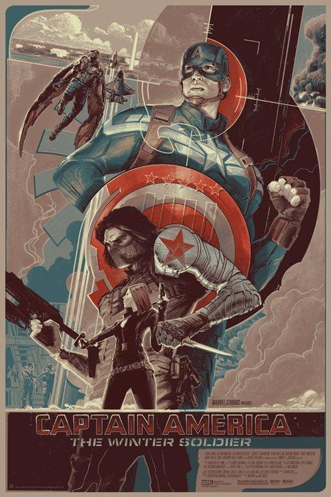 Póster Capitán América