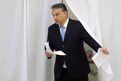 Orban proclama la victoria de su partido en las elecciones húngaras