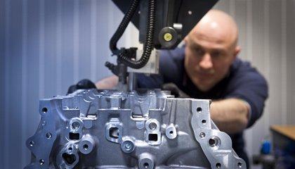 La producción industrial sube en febrero un 24,2 por ciento