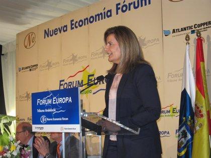 Báñez: Andalucía recibirá más de 2.700 millones para políticas de empleo