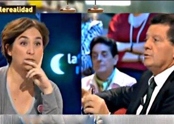 Alfonso Rojo expulsado de La Sexta Noche por llamar gordita a Ada Colau