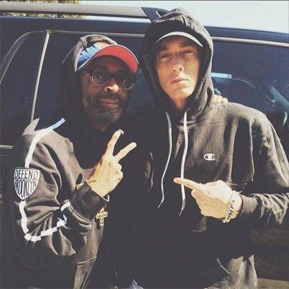 Eminem une fuerzas con Spike Lee