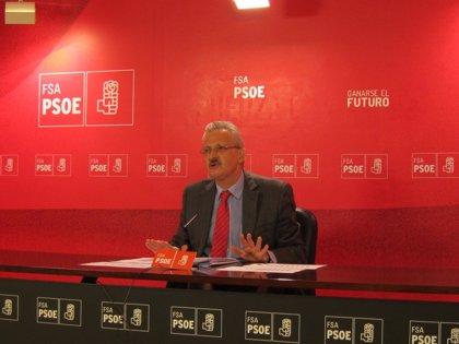 """Trevín (PSOE) asegura que la variante de Pajares no estará lista en 2014 """"aunque estuviese tuerta y con ancho ibérico"""""""