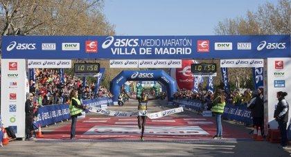 El Asics Medio Maratón Villa de Madrid vive una jornada de récords
