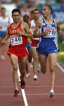 Antonio David Jimenez Pentinel en el Europeo de 2006