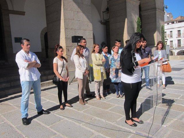 Conmemoración Del Día Internacional Del Pueblo Gitano En Cáceres