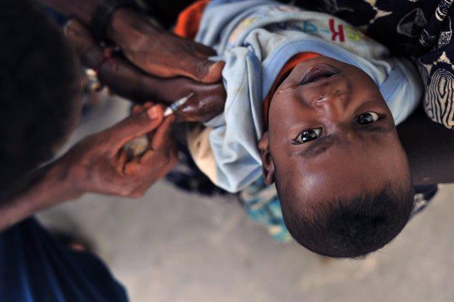 vacuna, recurso, niño