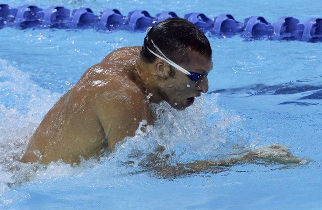 El Nadador Australiano Ian Thorpe