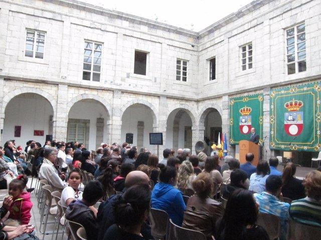 Celebración del Día Internacional del Pueblo Gitano en el Parlamento