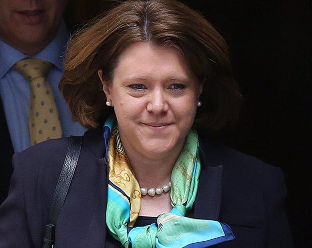 Maria Miller, ministra británica de Cultura que ha dimitido. Abril 2014