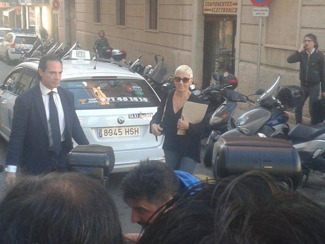 Ana Torroja llega a los Juzgados de Palma