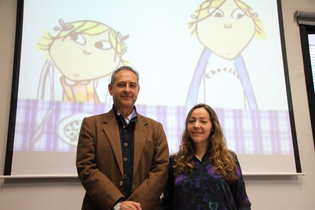 Concepción y Jesús Pertíñez, autores estudio sobre dibujos animados
